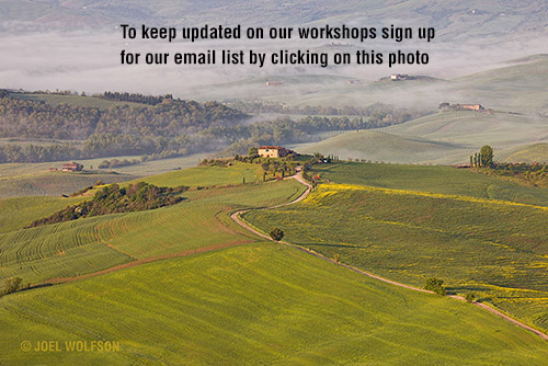 Joel Wolfson Photography Villages of Tuscany Photography Workshops and Really Fun Tour