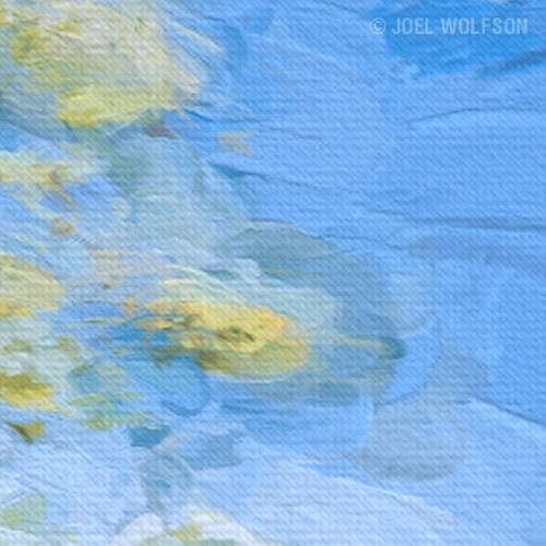 Close up (1:1) of the Impasto style above. You can even see the brush strokes and weave in the canvas!