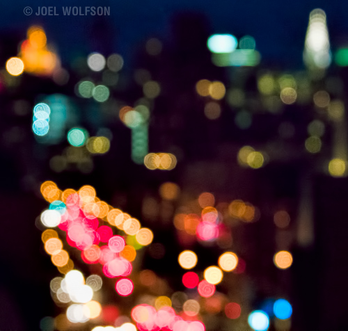 Although this shot isn't about bokeh it is OF bokeh and therefore one might be concerned about the actual bokeh and whether the relative aesthetic quality of bokeh does or does not affect the purity of the message. Naturally this type of image is not only abstract but relatively rare.